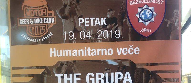 "(19.04.2019.) HUMANITARNO VEČE U BEER & BIKE CLUBU ""JADRAN"" U BUDVI"